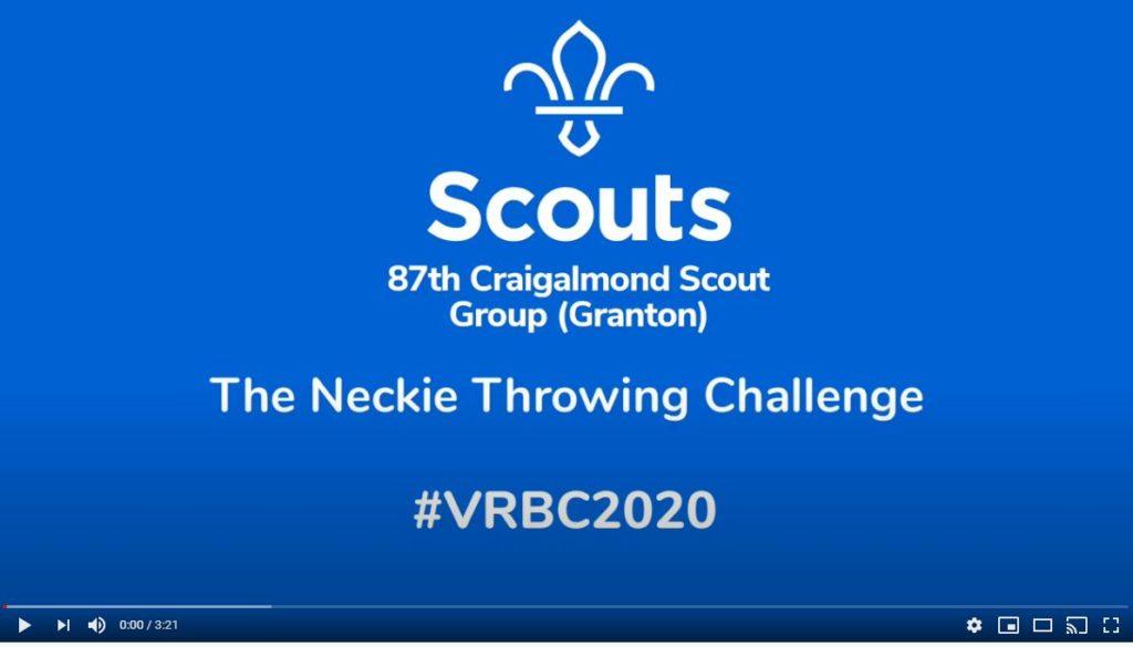 neckie challenge